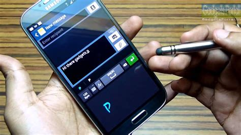 S-pen features on Galaxy S4 with a Stylus: See How - YouTube