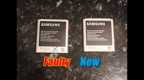 Samsung Galaxy S4 Battery FAULTY test - YouTube
